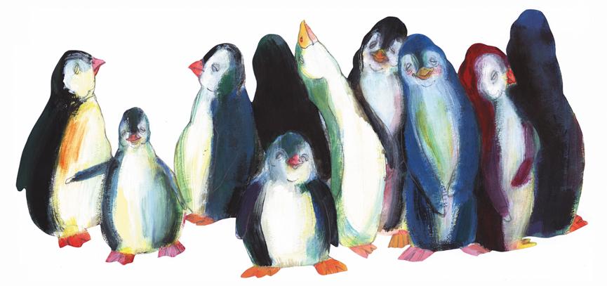 Pingvinmor